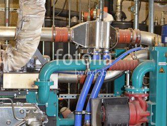 Biogasanlage vergrößert